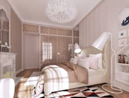mediterranean Bedroom by ZR-architects