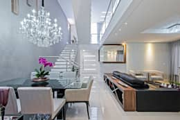 Salas : Salas de jantar modernas por Patrícia Azoni Arquitetura + Arte & Design
