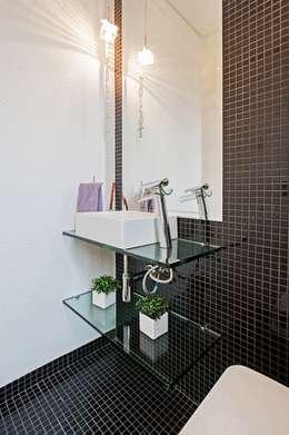 Baños de estilo moderno por Patrícia Azoni Arquitetura + Arte & Design