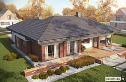 منازل تنفيذ Pracownia Projektowa ARCHIPELAG