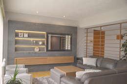 Livings de estilo clásico por CuboB Arquitectura de Interiores