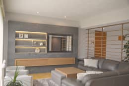 Proyecto Sala Bernardo Quintana: Salas de estilo clásico por CuboB Arquitectura de Interiores