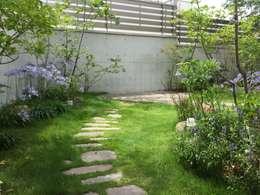Projekty,  Ogród zaprojektowane przez eni
