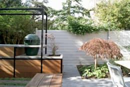 Familietuin met kookeiland: moderne Tuin door House of Green