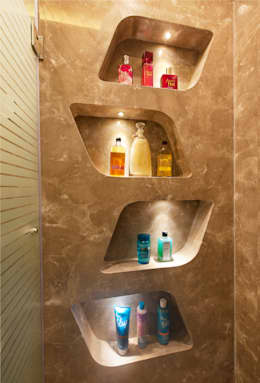 Bridal Room, Mumbai.: eclectic Bathroom by SDA designs