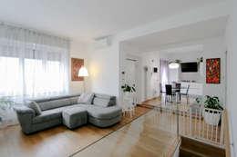Marco D'Andrea Architettura Interior Design: eklektik tarz tarz Oturma Odası
