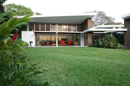 Jardines de estilo moderno por oda - oficina de arquitectura