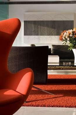 Salas / recibidores de estilo moderno por oda - oficina de arquitectura