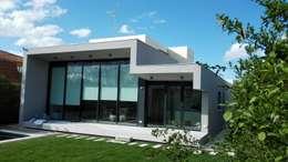 Casas de estilo minimalista por gestion integral de viviendas de diseño sl