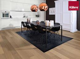 modern Dining room تنفيذ Kährs Parkett Deutschland