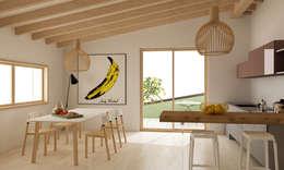 Кухня в . Автор – Studio Cobelli