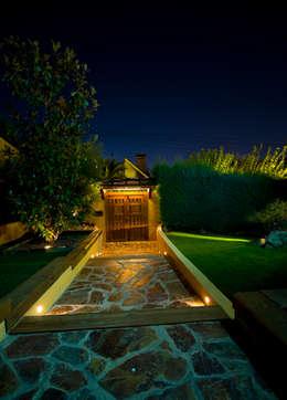 Jardin de style de stile Rural par TESTA studio
