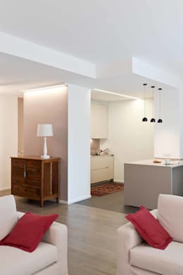 Cozinhas minimalistas por architetto Lorella Casola