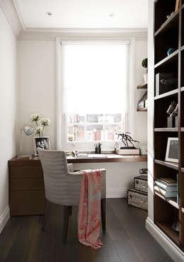 modern Study/office by Boscolo