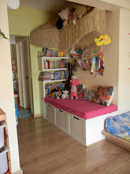Villa at Ezperenza, Whitefield: modern Nursery/kid's room by Interiors By Suniti