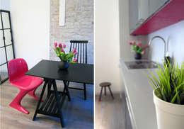 Cucina in stile in stile Moderno di Julia Kosina                                                                                                       Interior Design & Innenarchitektur