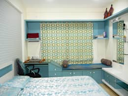 3BHK apartment: modern Bedroom by Interiors By Suniti