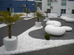Projekty,  Ogród zaprojektowane przez Arqnow, Unipessoal, Lda