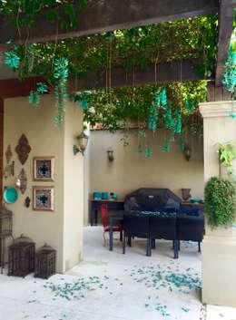 Residência Quinta do Golfe : Terraços  por FERNANDO ROMA . estudioROMA