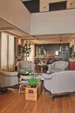 mediterranean Living room by FERNANDO ROMA . estudioROMA