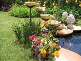 Projekty,  Ogród zaprojektowane przez Junia Lobo Paisagismo