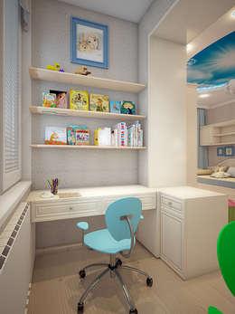 Дизайн квартиры в Новомосковске: Детские комнаты в . Автор – Алина  Насонова