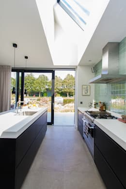 Projekty,  Kuchnia zaprojektowane przez ScanaBouw BV