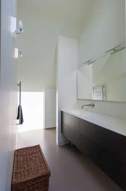 Projekty,  Łazienka zaprojektowane przez ScanaBouw BV