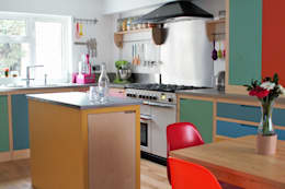 eclectic Kitchen by It Woodwork