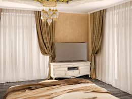 Tatiana Zaitseva Design Studio: klasik tarz tarz Yatak Odası