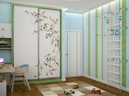 Tatiana Zaitseva Design Studio: modern tarz Çocuk Odası