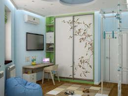 modern Dressing room by Tatiana Zaitseva Design Studio