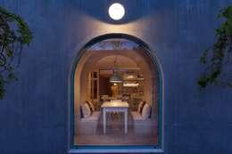 SegmentoPonto4: kırsal tarz tarz Yemek Odası