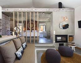SegmentoPonto4: kırsal tarz tarz Yatak Odası