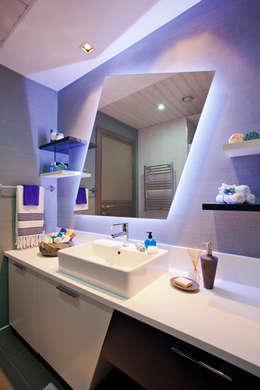 CCT INVESTMENTS – CCT 107 Project in Esenyurt: modern tarz Banyo