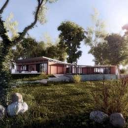 : Casas de estilo clásico por SOLIDO SLD