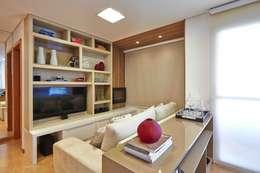 apê rf: Salas de estar modernas por grupo pr | arquitetura e design