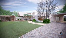 Jardines de estilo moderno por PORTO Arquitectura + Diseño de Interiores