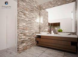 Bagno in stile in stile Moderno di PORTO Arquitectura + Diseño de Interiores