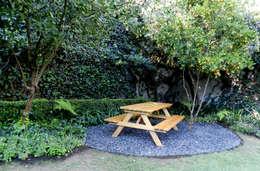 Proyecto PROTASIO TAGLE: Jardines de estilo moderno por Paisaje Radical