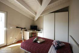 Chambre de style de style Moderne par Luca Mancini | Architetto