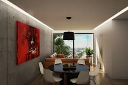 modern Dining room by Sulkin Askenazi