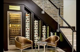 modern Wine cellar by WINE at HOME