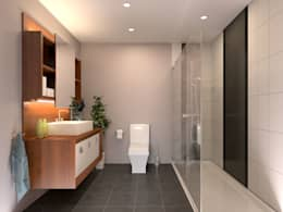 CCT INVESTMENTS – CCT 146 Project in Maslak: modern tarz Banyo