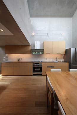 MKR: 一級建築士事務所アトリエソルト株式会社が手掛けたキッチンです。