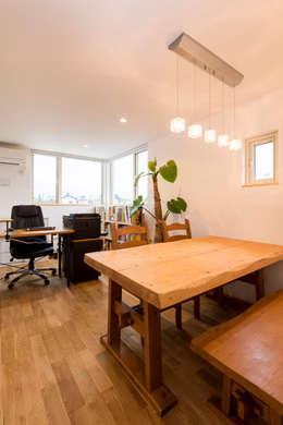 株式会社ルティロワ 一級建築士事務所의  서재 & 사무실
