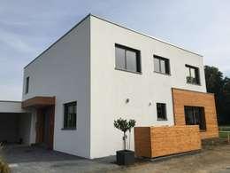 Haus W: moderne Häuser von cordes architektur