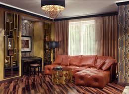 modern Living room by Alena Gorskaya Design Studio
