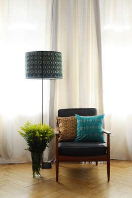 asian Living room تنفيذ Kainku Living