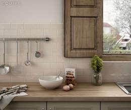 Projekty,  Kuchnia zaprojektowane przez Equipe Ceramicas